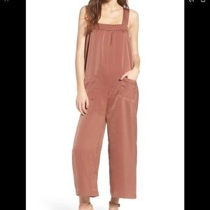 LINE & DOT Ali Satin Jumpsuit In Terracotta  S #27